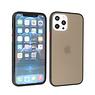 iPhone 12 Pro Max Hoesje Hard Case Backcover Telefoonhoesje Zwart