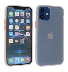 iPhone 12 Mini Hoesje Hard Case Backcover Telefoonhoesje Wit