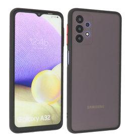 Samsung Galaxy A32 4G Hoesje Hard Case Backcover Telefoonhoesje Zwart