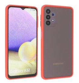 Samsung Galaxy A32 4G Hoesje Hard Case Backcover Telefoonhoesje Rood