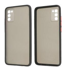 Samsung Galaxy A02s Hoesje Hard Case Backcover Telefoonhoesje Zwart