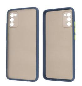 Samsung Galaxy A02s Hoesje Hard Case Backcover Telefoonhoesje Blauw