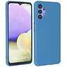 Samsung Galaxy A32 4G Hoesje Fashion Backcover Telefoonhoesje Navy