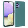 Samsung Galaxy A32 4G Hoesje Fashion Backcover Telefoonhoesje Donker Groen