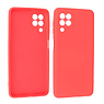 Samsung Galaxy A22 4G Hoesje Fashion Backcover Telefoonhoesje Rood