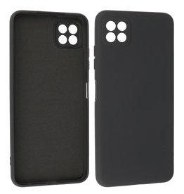 Samsung Galaxy A22 5G Hoesje Fashion Backcover Telefoonhoesje Zwart