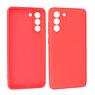 Samsung Galaxy S21 FE Hoesje Fashion Backcover Telefoonhoesje Rood