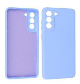 Samsung Galaxy S21 FE Hoesje Fashion Backcover Telefoonhoesje Paars