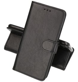 Motorola Moto Edge 20 Lite Hoesje Kaarthouder Book Case Telefoonhoesje Zwart