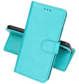 Motorola Moto Edge 20 Lite Hoesje Kaarthouder Book Case Telefoonhoesje Groen