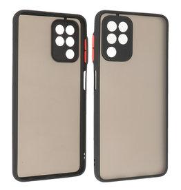 Samsung Galaxy A22 4G Hoesje Hard Case Backcover Telefoonhoesje Zwart