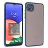 Samsung Galaxy A22 5G Hoesje Hard Case Backcover Telefoonhoesje Blauw