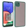 Samsung Galaxy A22 5G Hoesje Hard Case Backcover Telefoonhoesje Donker Groen