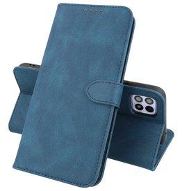 Samsung Galaxy A22 5G Hoesje Book Case Telefoonhoesje Blauw