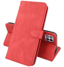 Samsung Galaxy A22 5G Hoesje Book Case Telefoonhoesje Rood