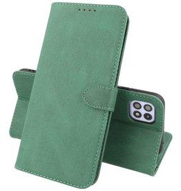 Samsung Galaxy A22 5G Hoesje Book Case Telefoonhoesje Groen
