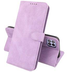 Samsung Galaxy A22 5G Hoesje Book Case Telefoonhoesje Paars