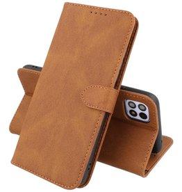 Samsung Galaxy A22 5G Hoesje Book Case Telefoonhoesje Bruin
