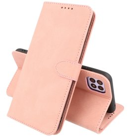 Samsung Galaxy A22 5G Hoesje Book Case Telefoonhoesje Roze