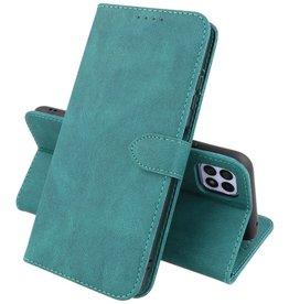 Samsung Galaxy A22 5G Hoesje Book Case Telefoonhoesje Donker Groen