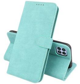Samsung Galaxy A22 5G Hoesje Book Case Telefoonhoesje Turquoise