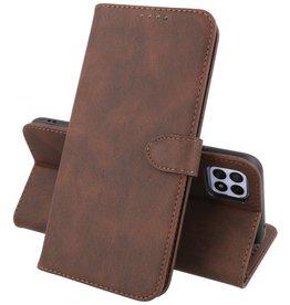Samsung Galaxy A22 5G Hoesje Book Case Telefoonhoesje Mocca