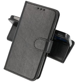 iPhone 13 Mini Hoesje Kaarthouder Book Case Telefoonhoesje Zwart