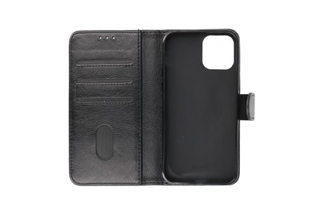 iPhone 13 Hoesje Kaarthouder Book Case Telefoonhoesje Zwart