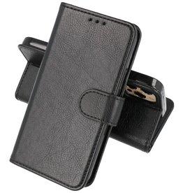 iPhone 13 Pro Hoesje Kaarthouder Book Case Telefoonhoesje Zwart