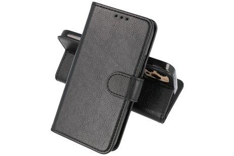 iPhone 13 Pro Max Hoesje Kaarthouder Book Case Telefoonhoesje Zwart