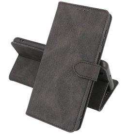 Samsung Galaxy A12 Hoesje Book Case Telefoonhoesje Zwart