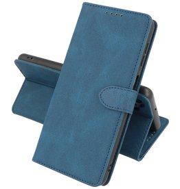 Samsung Galaxy A12 Hoesje Book Case Telefoonhoesje Blauw