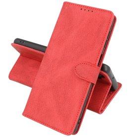 Samsung Galaxy A12 Hoesje Book Case Telefoonhoesje Rood