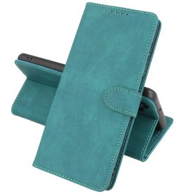 Samsung Galaxy A12 Hoesje Book Case Telefoonhoesje Donker Groen