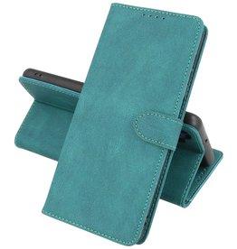iPhone 13 Mini Hoesje Book Case Telefoonhoesje Donker Groen