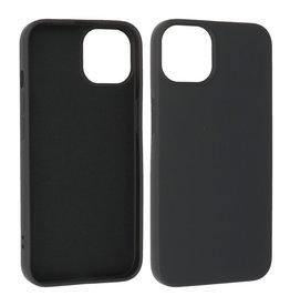 iPhone 13 Mini Hoesje Fashion Backcover Telefoonhoesje Zwart