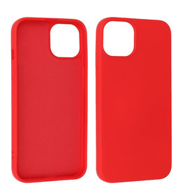 iPhone 13 Hoesje Fashion Backcover Telefoonhoesje Rood