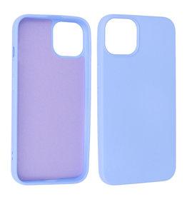iPhone 13 Hoesje Fashion Backcover Telefoonhoesje Paars