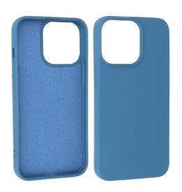 iPhone 13 Pro Hoesje Fashion Backcover Telefoonhoesje Navy