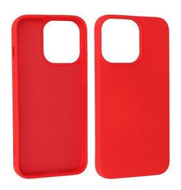 iPhone 13 Pro Hoesje Fashion Backcover Telefoonhoesje Rood