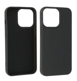 iPhone 13 Pro Max Hoesje Fashion Backcover Telefoonhoesje Zwart