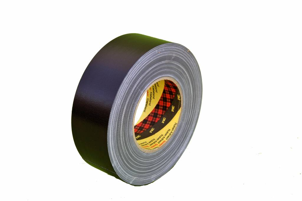 3M Duct tape 50mm breed zwart