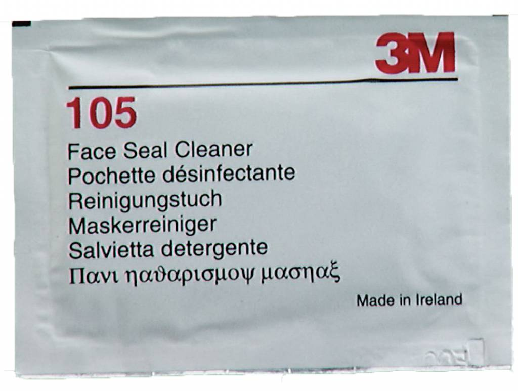 3M Masker reinigingsdoekjes 40st.