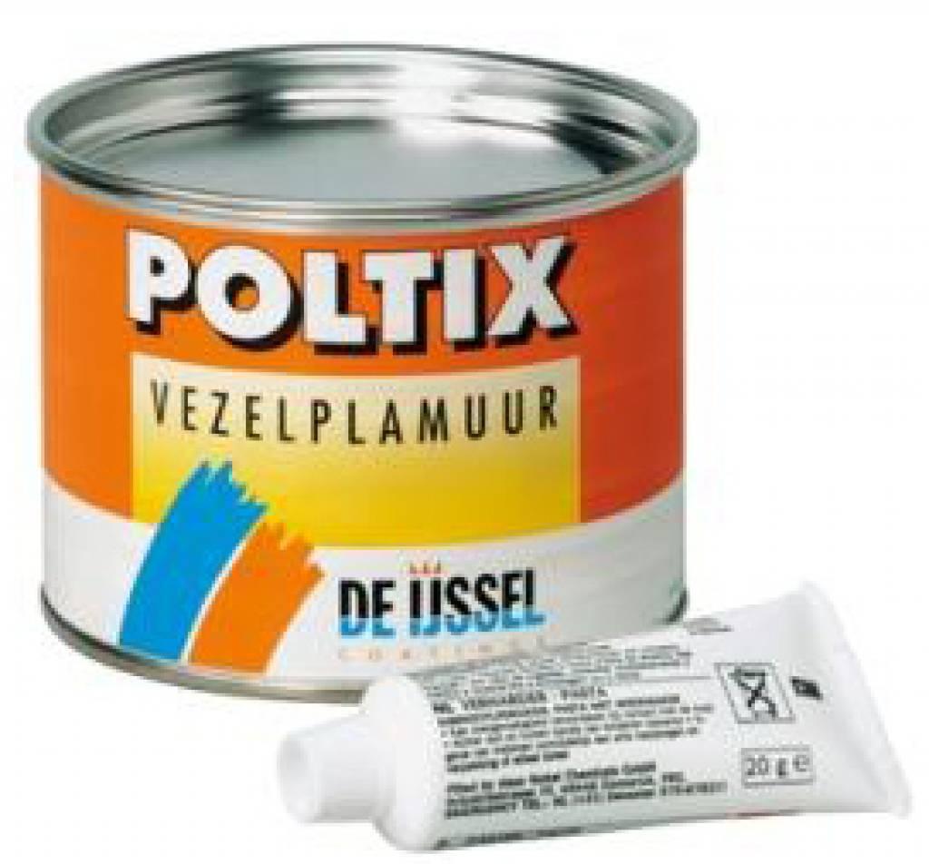 De ijssel Poltix vezelplamuur set 1kg