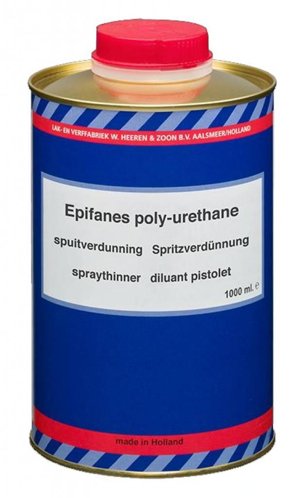 Epifanes P.U. Spuitverdunning