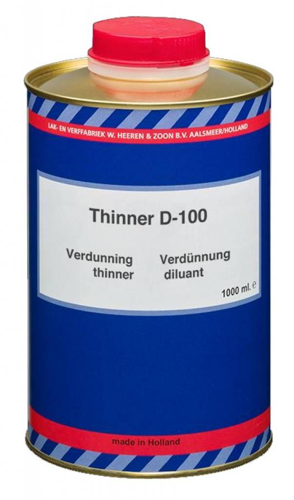 Epifanes D-100 Verdunning