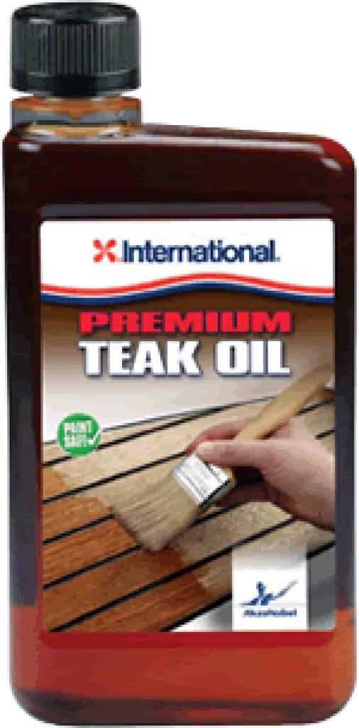 International Boatcare teak oil 500ml