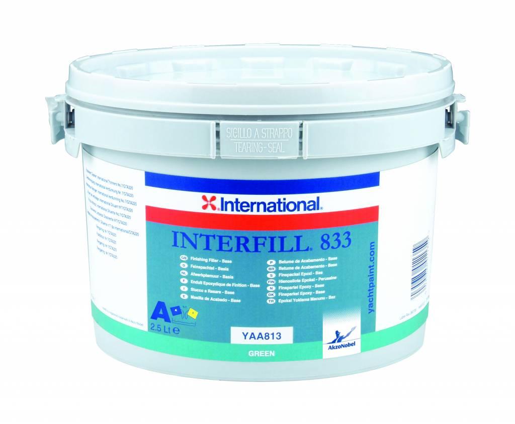International plamuur Interfill 833 set 5ltr