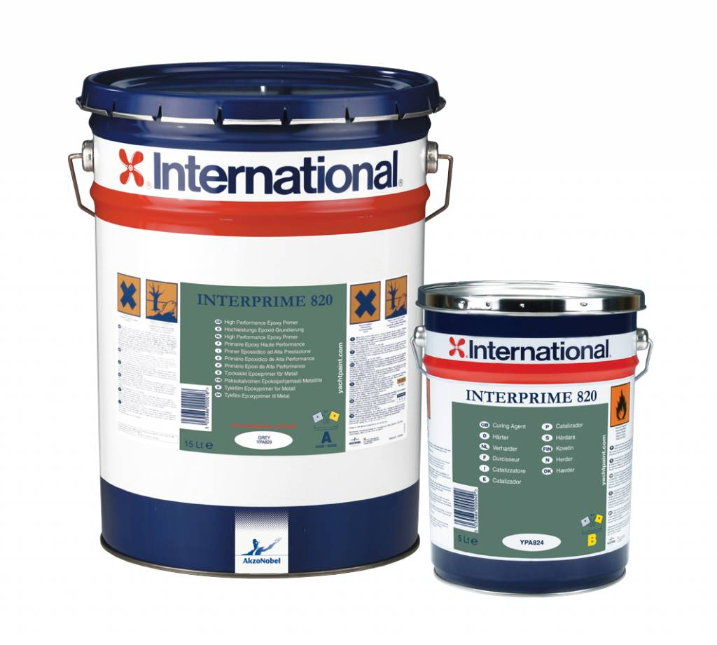 International Interprime 820 grijs 20ltr