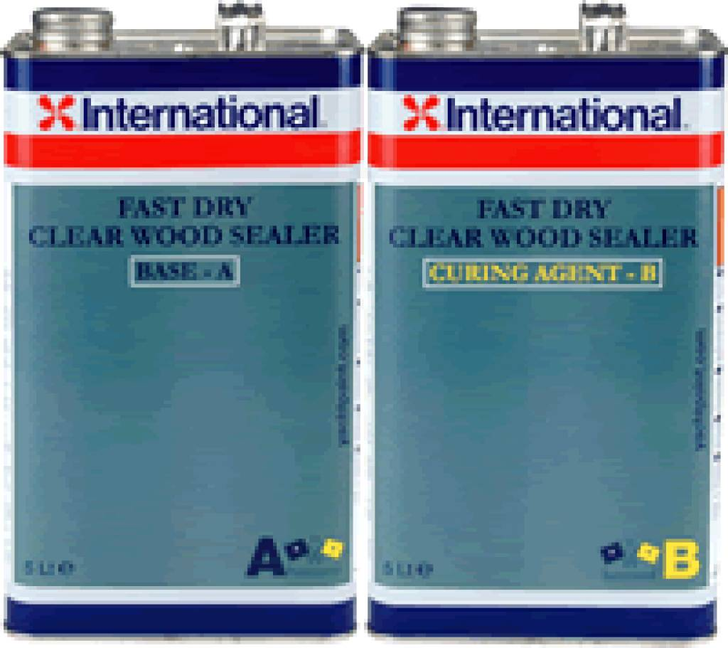International Clearwood sealer fast set 10ltr